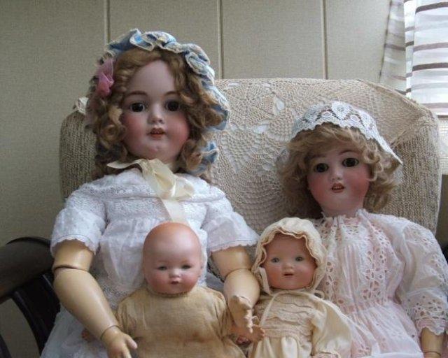 Реставрация старых кукол своими руками